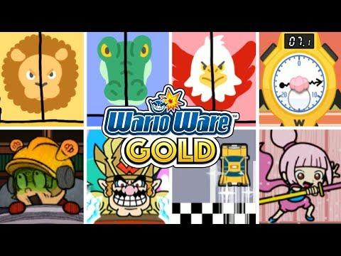 WarioWare Gold - All Challenge Modes!