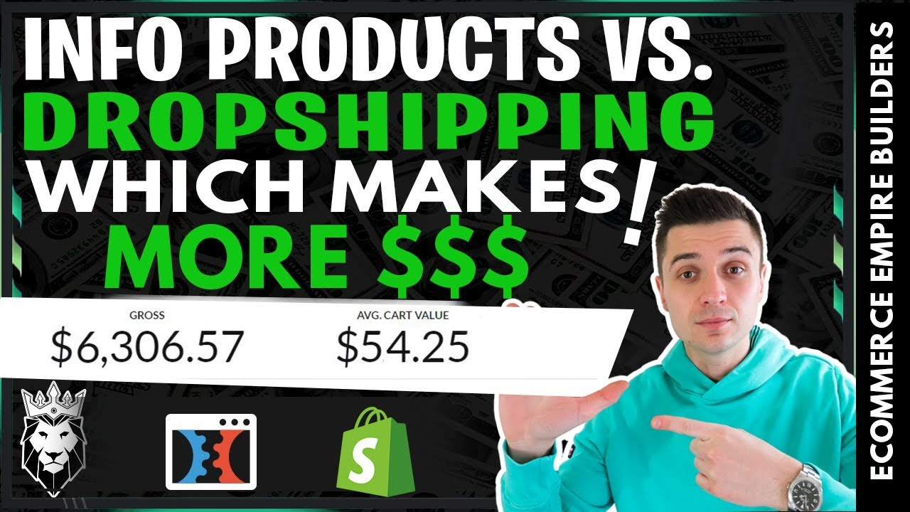 Should You QUIT Dropshipping In 2019 & Sell Info Products Instead?