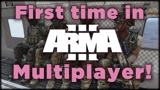 First time in Arma 3 Multiplayer (how to get to the bloody fights!)