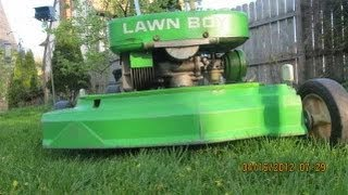 Lawn-Boy 5024 Cold start and Mowing