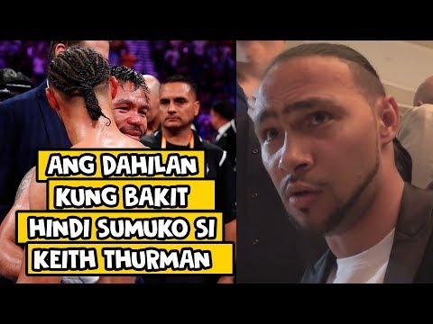 Keith Thurman | Ang Istorya Sa Hindi Niya PAG SUKO Sa Laban Kay Manny Pacquiao
