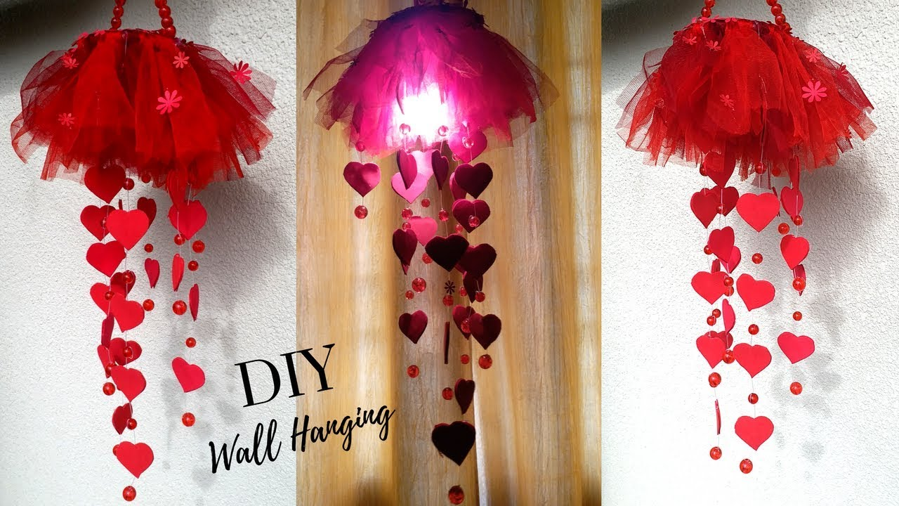 New Diy Heart Wall Hanging Craft Ideas For Room Decoration Diy