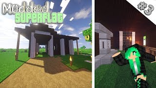 Minecraft Modded Superflat | LET'S TINKER {3}