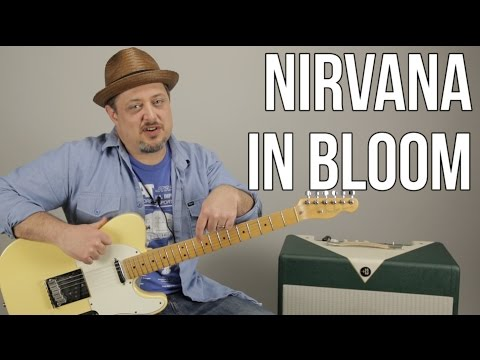 Nirvana - In Bloom - How to Play on guitar - Guitar Lesson
