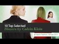 10 Top Selected Blazers by Calvin Klein Amazon Fashion, Winter 2017