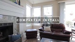 Milgard Tuscany Replacement Windows Install Time Lapse in San Diego, CA