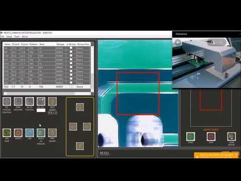 Electronic card Optical Inspection with SMDVISIO open production file for multiple pcb - part #3