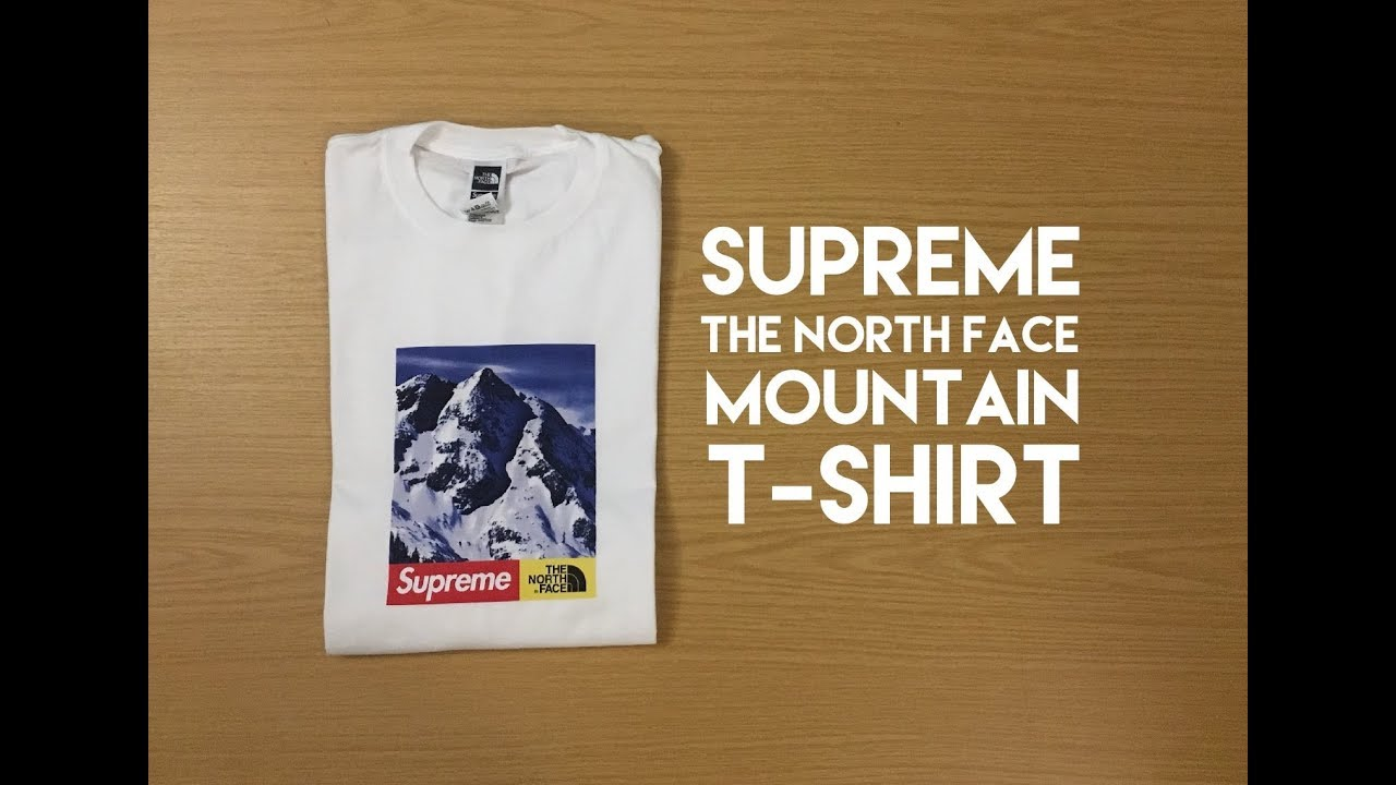 5a2cf48c7 Supreme North Face Mountain Tee - Review