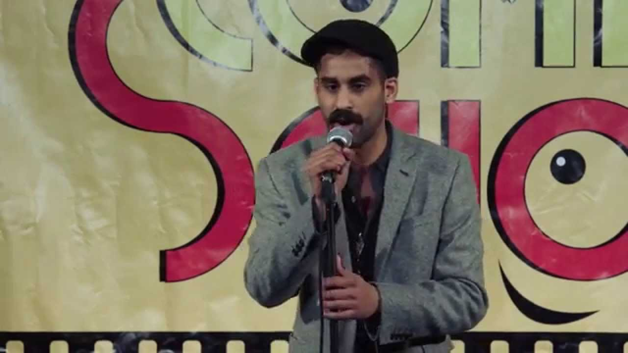 lucky azad stand up at the backyard comedy club youtube