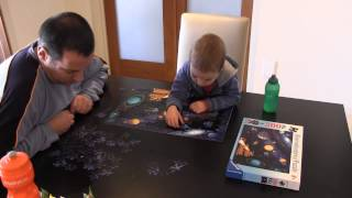 200 piece Solar System Puzzle with Justin