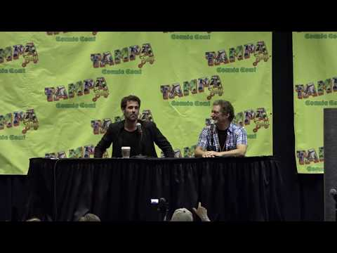 Matt Ryan (Constantine) Panel moderated by Anthony Cumia at Tampa Bay Comic Con