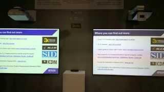 TriLCD EPSON vs DLP Vivitek Color et Light
