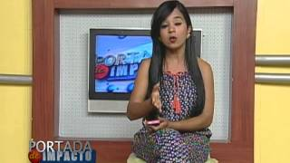 Portada de Impacto Daniela Rojas la Niña que canta para Dios