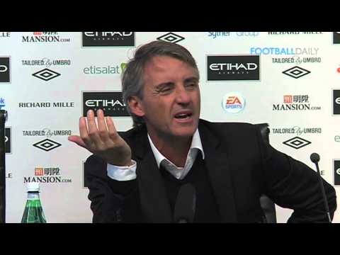 "Mancini tells other managers to ""shut up"" 