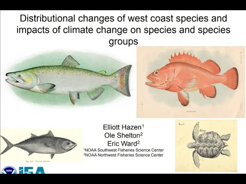 Distributional Changes Of West Coast Species And Impacts Of Climate Change