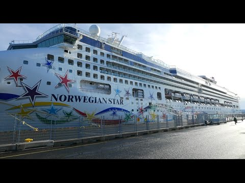 "Visiting NCL cruise ship ""Norwegian Star"" (incl. wheelhouse)"