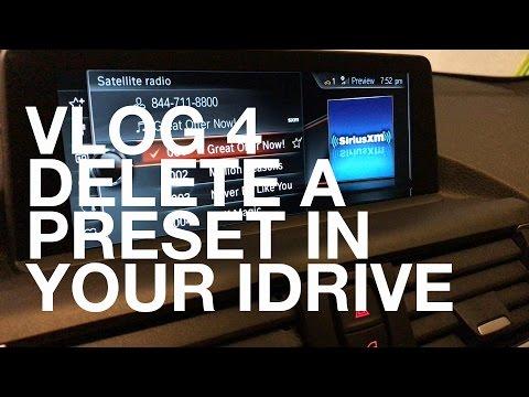 Delete A Preset In Your iDrive