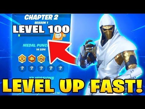 The FASTEST Way To Level Up In Fortnite Chapter 2! (How To Level Up + Get Tier 100 FAST)
