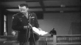 Munich No. 294: Malmedy War Crimes Trials, Dachau, Germany, 07/11/1946 (full)