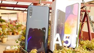 Samsung Galaxy A50 Review with Pro's & Cons - Camera Phone? thumbnail