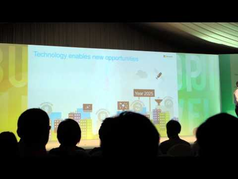 Harnessing new oilfields of Internet-of-Things, Mobility, Cloud & Big Data with Microsoft