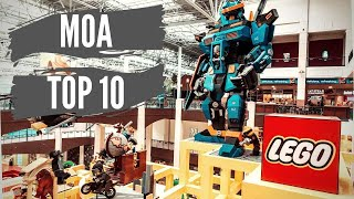 Top 10 Things to do at the Mall of America!