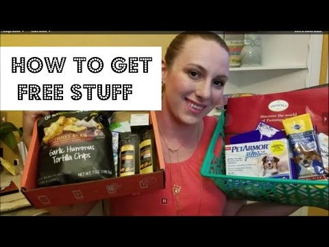Free Sample Haul + Sprout Voxbox Unboxing