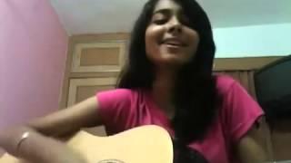اجمل صوت بنت هندية تغني تيري ميري