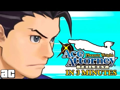 Phoenix Wright FULL Storyline in 3 minutes! (Animation)