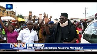 Fayose Makes First Public Appearance After July 14 Guber Polls