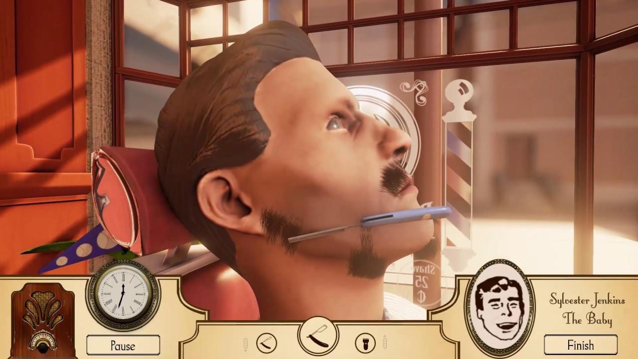 Symulator Fryzjera Golimy Brode Barber Shop Youtube