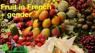 Fruit in French - Les fruits