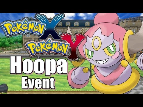 Hoopa Event Pokemon X Pokemon Y [Deutsch]