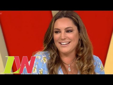 Kelly Brook Defends Altering Her Body Shape in Her Photos | Loose Women