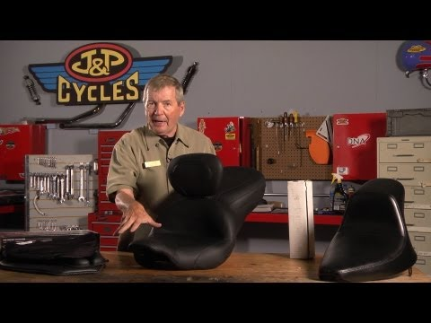 Choosing the Right Motorcycle Seat or Cushion by J&P Cycles
