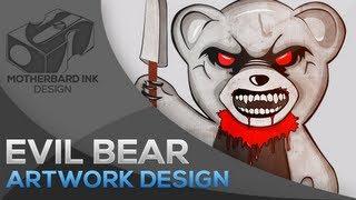 Evil Bear | Vector | Speed Art