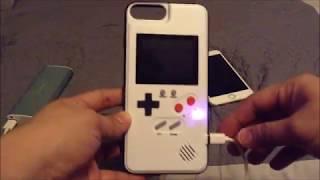 retro gaming iphone case (Gameboy Phone Case)