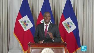 Haiti's president breaks silence over deadly unrest
