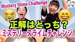 正解をえらべ!ミステリースライムチャレンジ★【ベイビーチャンネル 】Mystery Slime Challenge thumbnail
