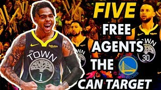 Five Free Agents The Warriors Can Target After Trading For D'Angelo Russell   2019 NBA Free Agency