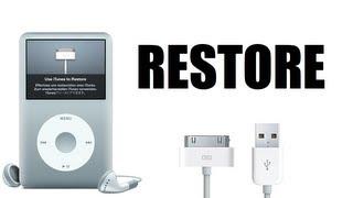 How to Restore a Broken iPod