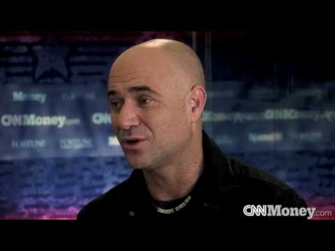 CNNMoney: Andre Agassi On Life, Tennis, & New Book