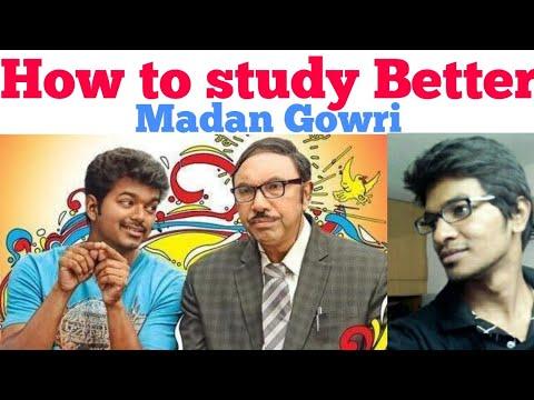 How to study Better | Tamil | Madan Gowri | MG