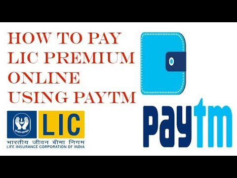 How to pay LIC Premium Online using Paytm!! Pay Premium in 2 minuets