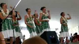 Colorado Dragon Boat Festival 2008 - Hula dances