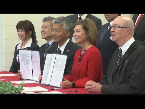 Princeton Community High School has a sister school in Japan