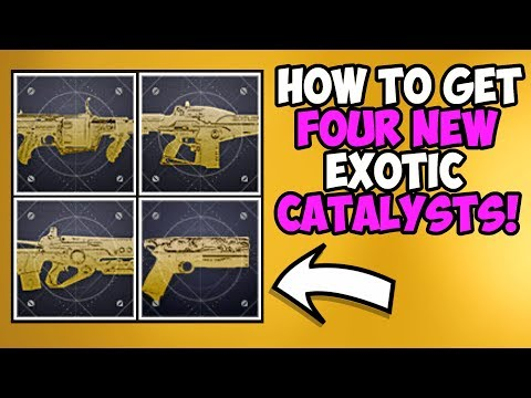 Destiny 2 | How to Get Four NEW Exotic Catalysts! Rat King, Prospector & More Coming in Arc Week! thumbnail