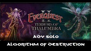Everquest 2: Terrors of Thalumbra - Algorithm of Destruction Advanced Solo