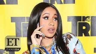 Cardi B Talks Nicki Minaj, Beyonce And Baby-To-Be On Album Press Tour