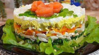 Ну, оОчень вкусный салат АДМИРАЛ, ошеломляющий нежный вкус, удержаться не возможно !